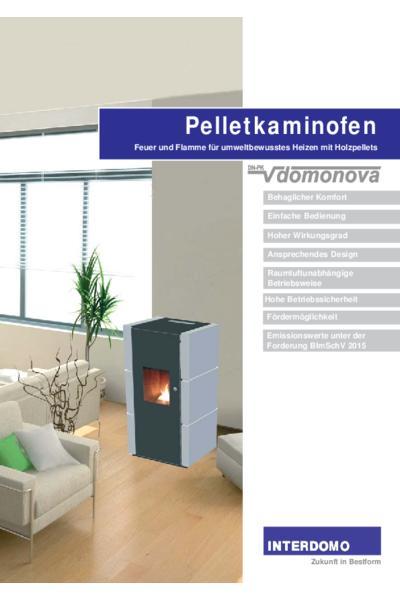 Pelletkaminofen DomoNova
