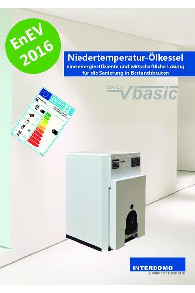 Niedertemperatur-Ölkessel Produkthinweis