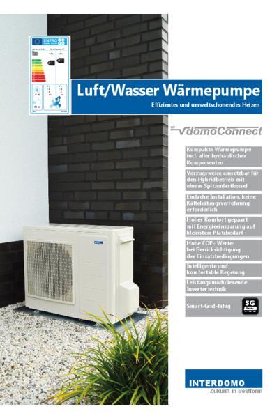 Wärmepumpe domoConnect WP 5.0 / WP 8.0
