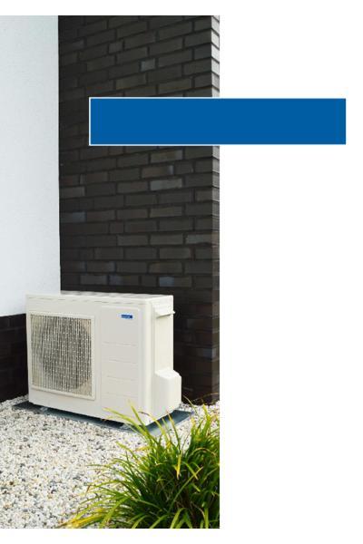Monoblock Wärmepumpe domoConnect WP 5.0