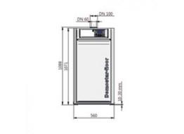 bodenstehender Gas-Brennwertkessel domostar-floor