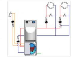 Öl-Niedertemperatur-Heizkessel Paket TSH 150